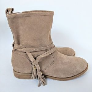 Tommy Hilfiger Suede Ankle Boots Size 8.5